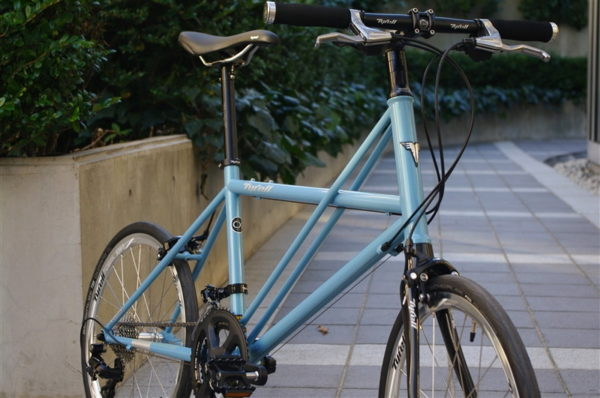 Tyrell タイレル  CX / Pastel Blue SORA FLATBAR model