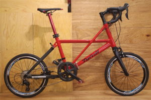 tyrell fsx red 折畳み自転車